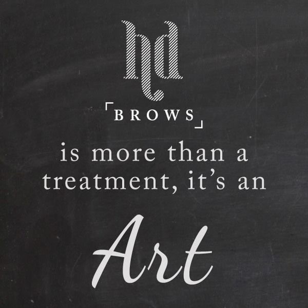 High Definition Brows Pro Stylist – that's me!